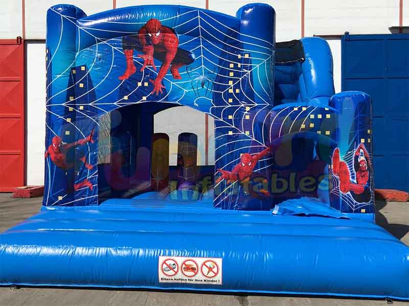 New spiderman inflatable bounce house inflatable bouncy castle prices kids bouncy castle
