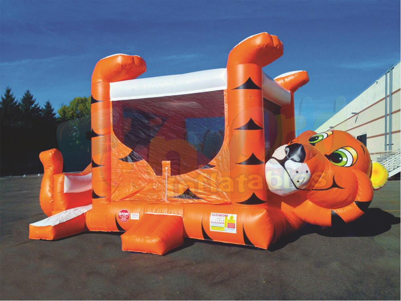 Kids outdoor inflatable bouncers for sale canada small tiger belly bounce house inflatable Bouncer