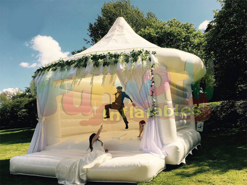 Hot commercial bouncy castles wedding bounce houses inflatable wedding bouncy castle
