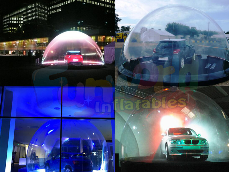 Grade transparent giant igloos inflatable domes 2018 thunderbay ice cube tent