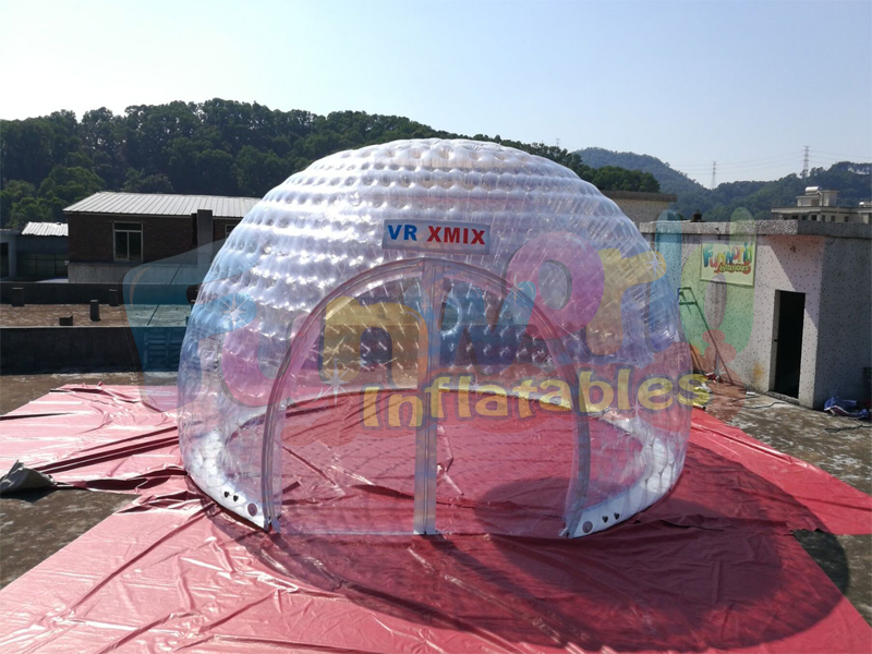 Great advertising transparent bubble tent inflatable dome tent inflatable igloo