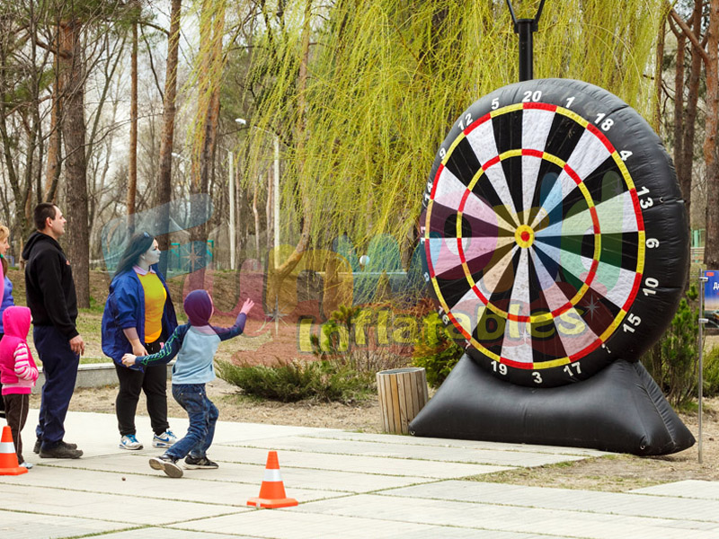 Funny inflatable foot darts game foot darts buy inflatable sport games