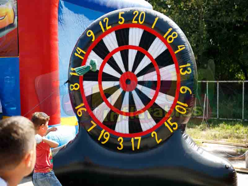 Large foot dart board inflatable soccer dart for sale foot darts price