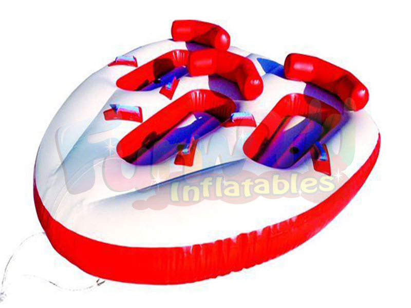 PVC water sports inflatable towable tube buoys for sale towable water tubes