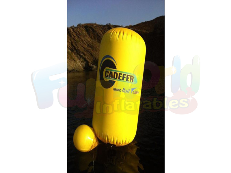 Floating striking marker inflatable swim buoy burdensome myboy national data buoy center