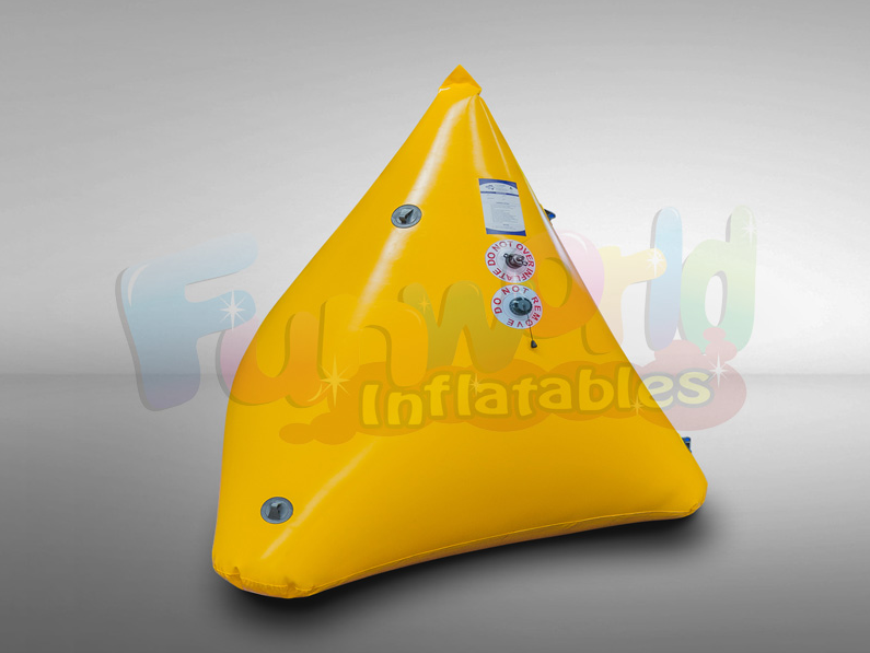 Promoting pyramidal shape marker bouys boat buoy with customized logo for sale