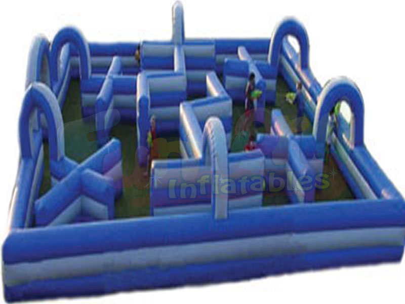 Interactive laser tag inflatable laser maze inflatable water tag arena sport game