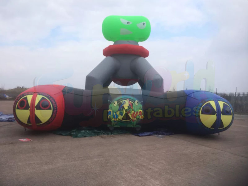 Hot sale inflatable haunted maze  inflatable laser maze obstacle course