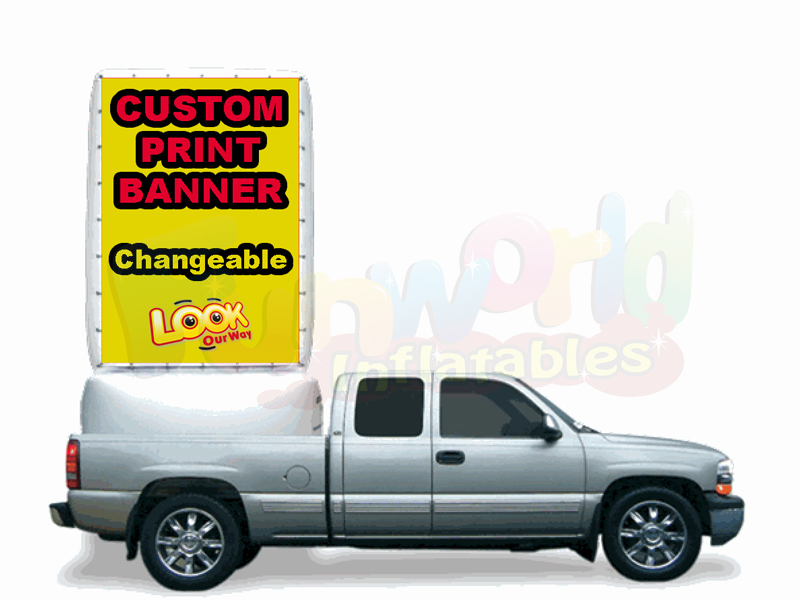 Advertising flags usd inflatable project screen for sale inflatable banners