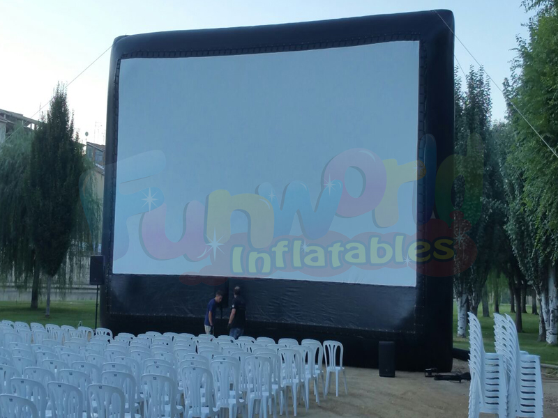 2018 Hot inflatable movie screen outdoor inflatables digital advertising screens