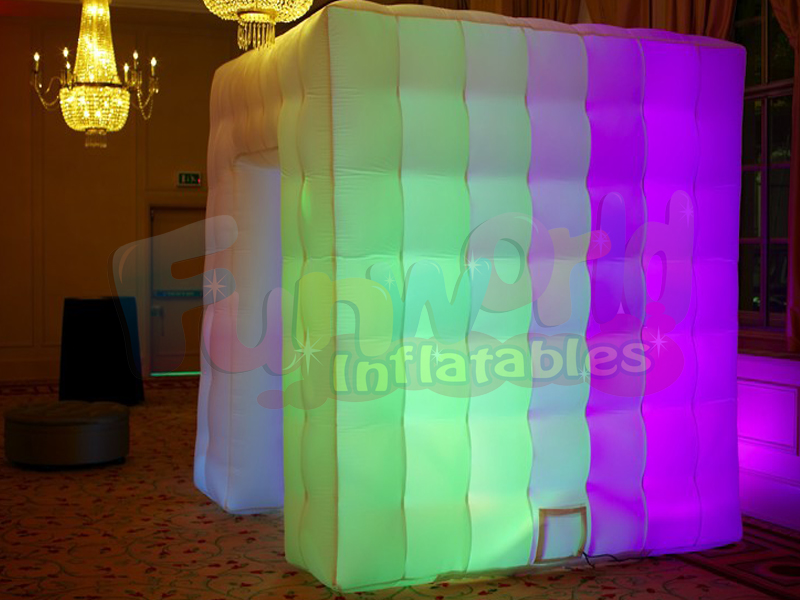 Hot sale LED inflatable photo foto booths buy a photo booth for event