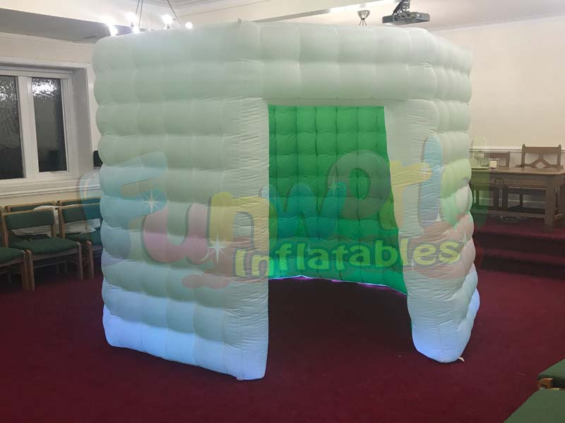 Commercial used photo booth for sale photo booth decoration cube tent