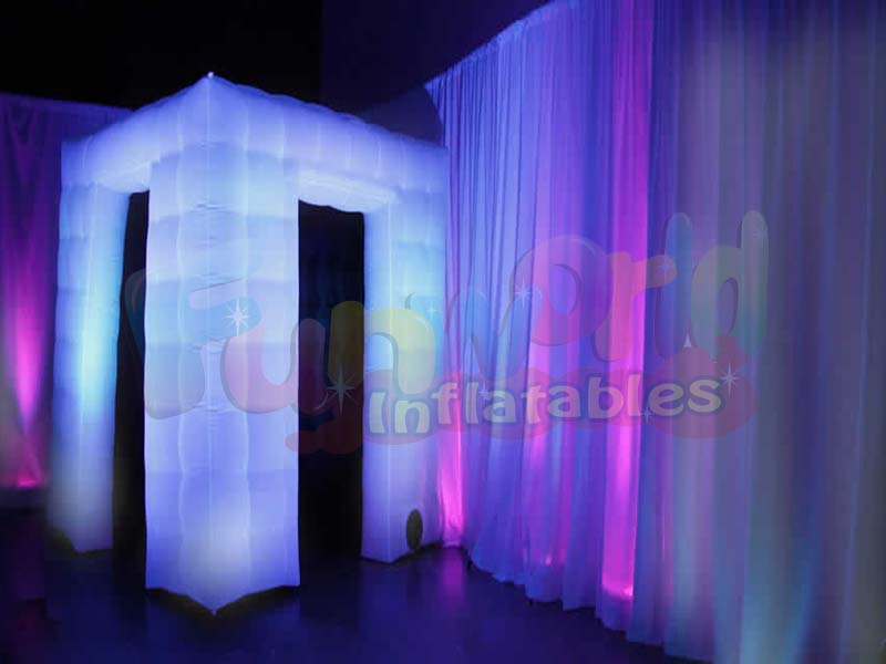 Portable buy a photo booth photo frame inflatable light trade show tent