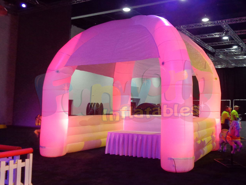 Outdoor inflatable photo booth baby shower photo booth with lighting