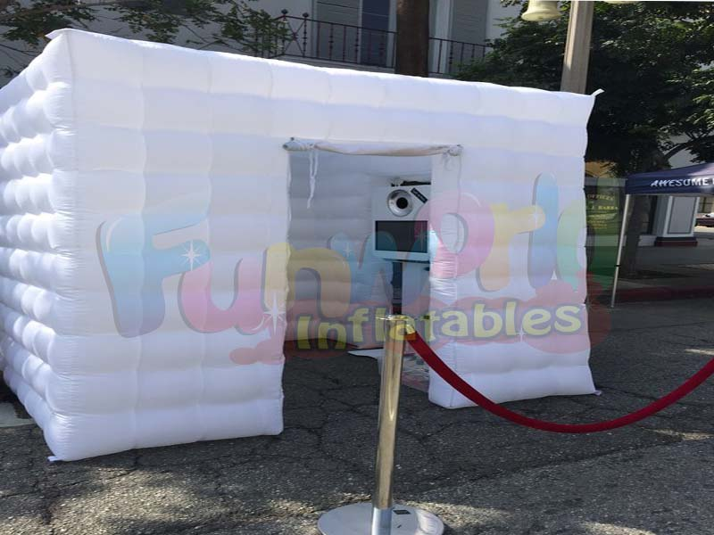 High quality inflatable LED touch screen photo booth photo booth album