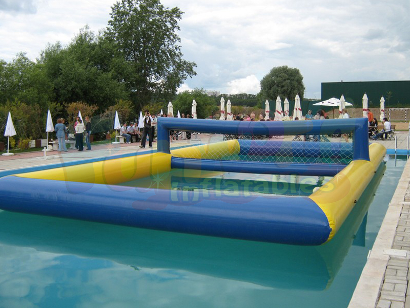 Customized inflatable water volleyball inflatable volleyball court sports game