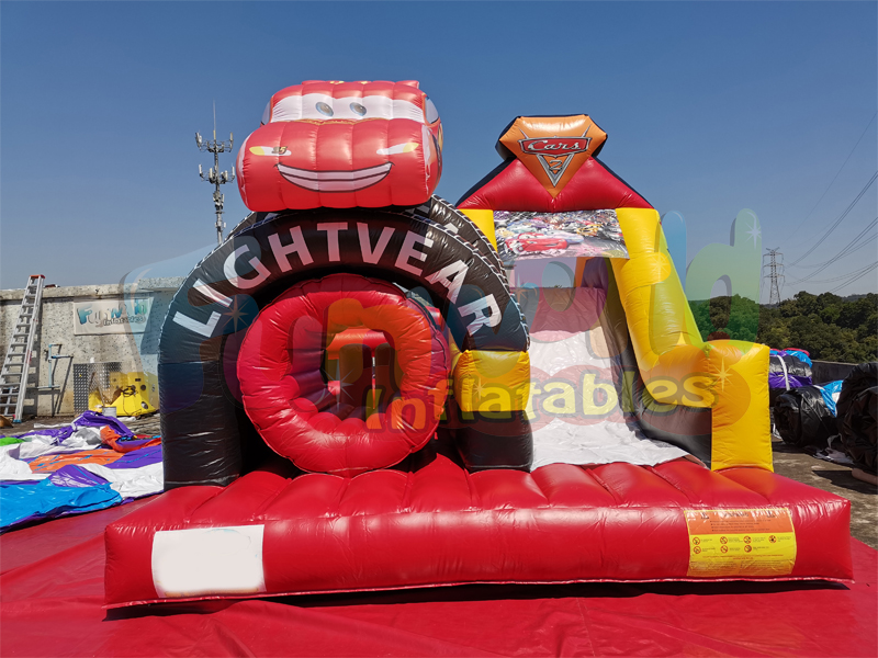 New bounce house jumping giant inflatable slide for adult inflatable car slide