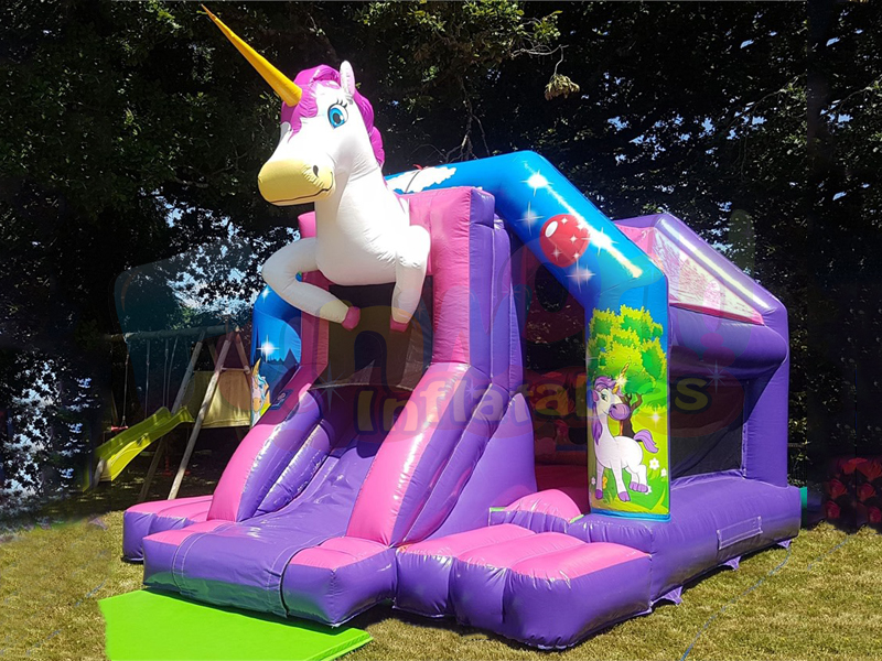 Unicorn inflatable jumper castle commercial inflatable bouncer for sale