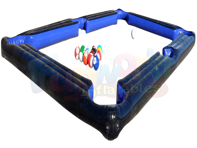 New Inflatable Soccer Pool Table Inflatable Human Billiards Soccer - Human pool table