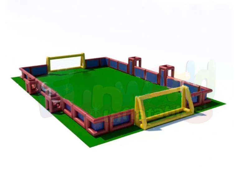 Giant inflatable football box blow up soccer field inflatable football boards