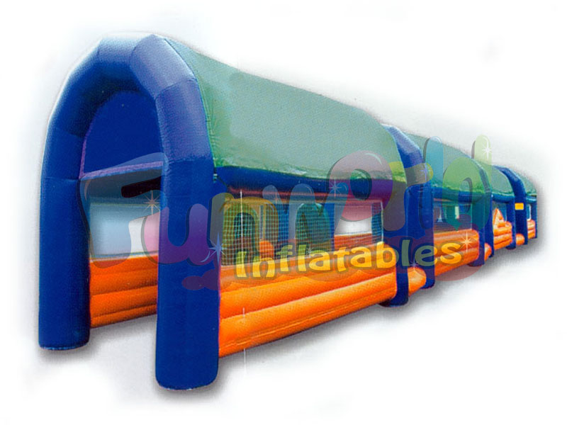 Football inflatable football circuit giant inflatable soccer bouncy soccer field