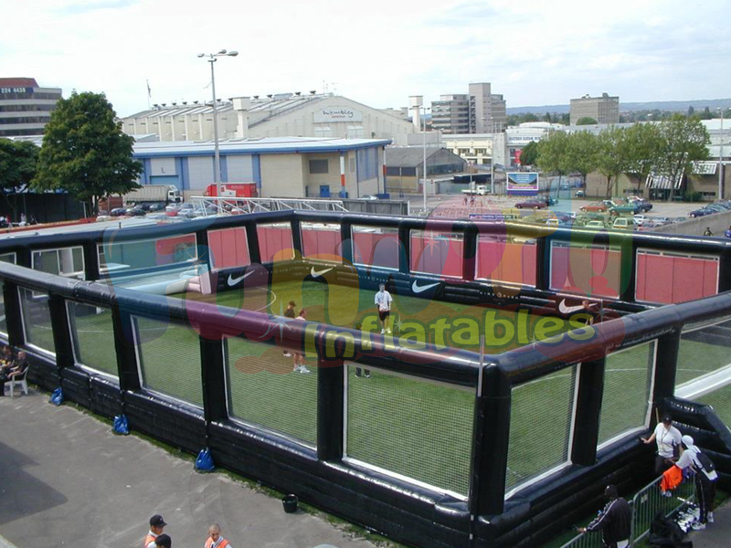 Huge inflatable football inflatable soccer stadium soccer arena compete