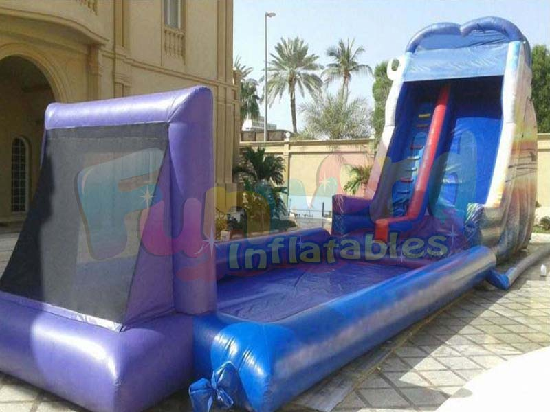 Outdoor soap soccer arenas inflatable soccer field soapy football pitch