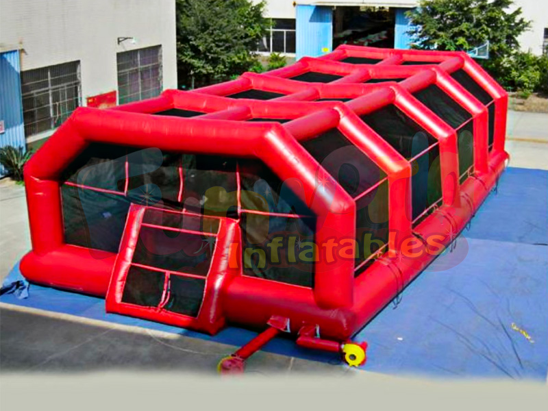New inflatable paintball arena inflatable sport field paintball bunker tent