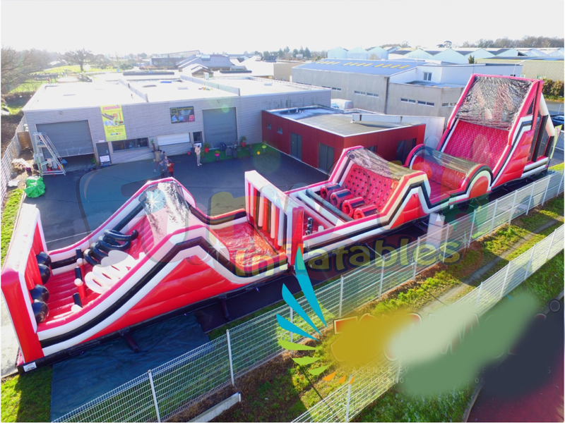 Children inflatable castle inflatable giant obstacle course inflatable inflatable structure