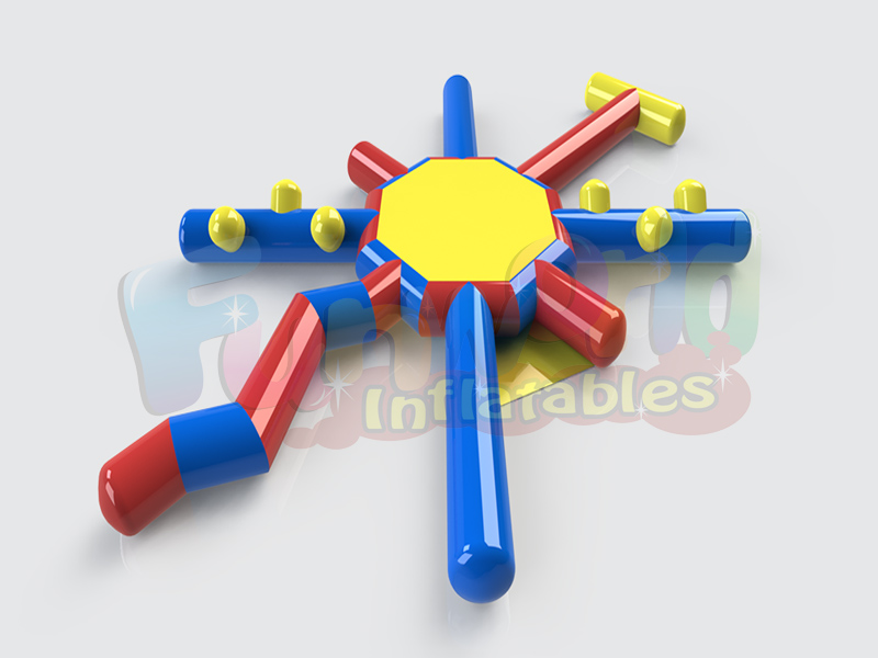 Cheap pool toys inflatable water obstacle course inflatable pool