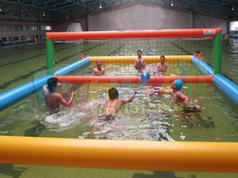 High quality water inflatable volleyball court inflatable beach volleyball field