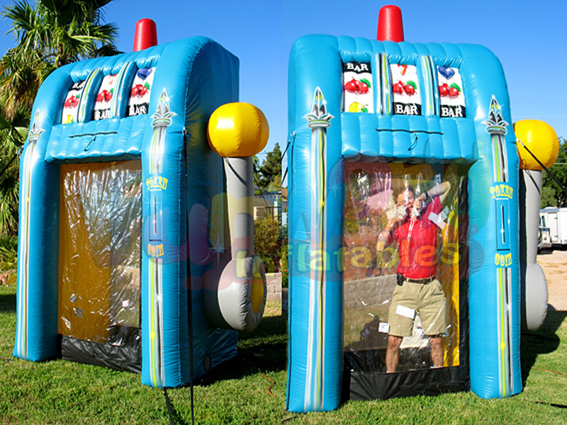 custom money grab booth inflatable cash cube inflatable money machine