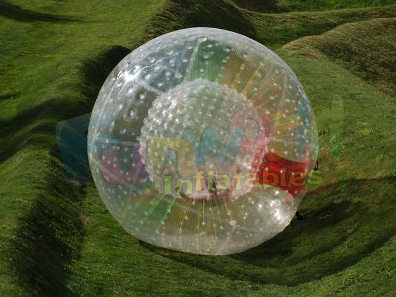 Transparent human hamster ball for sale giant inflatable clear water human zorb ball