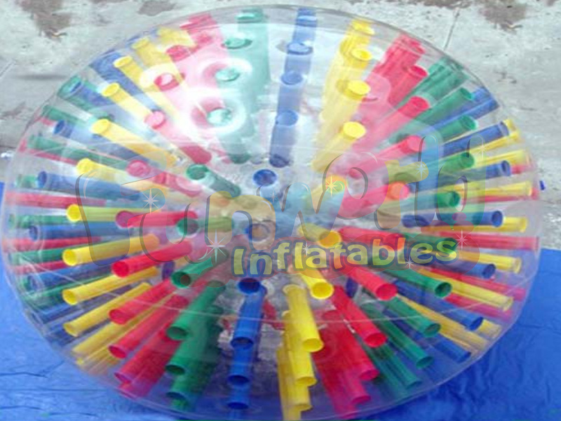 Cheap price adults zorb human bounce ball game inflatable ball that you get inside for fun