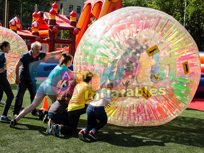 Fun inflatable balls that you get inside of  zorb ball bowling games for sale zorbing for two