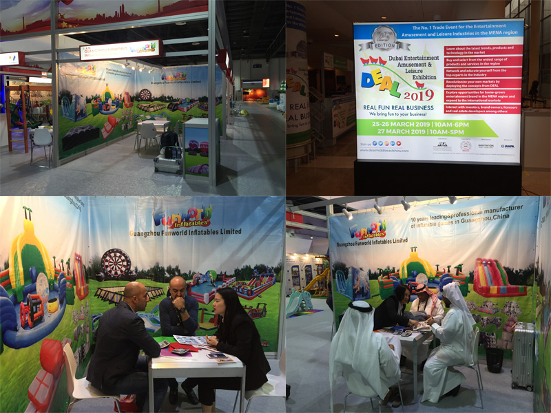 Funworld and Dubai entertainment amusement & leisure show